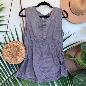 Bit & Bridle Embroidered Tank